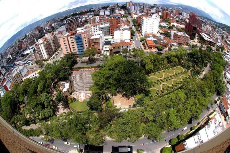 Hasta principios de 2012 el parque Mejoras Públicas lucía así