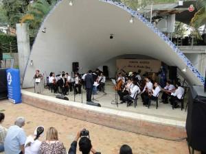 Grupos musicales se darán cita en la concha acústica, en el Encuentro Estudiantil de Música Instrumental. - Suministrada / GENTE DE CABECERA