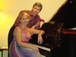 Tomada de Facebook / GENTE DE CABECERA Los esposos ucranianos Alexander y Victoria Ziborov presentarán el tercer recital de abono.