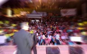 Algunos eventos de los que se efectúan en la concha acústica molestan a vecinos por el ruido de los micrófonos y música. - Archivo / GNETE DE CABECERA