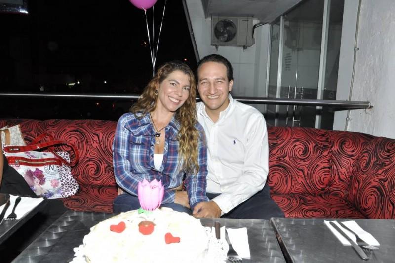 Marisol Olaya Rueda y Nelson Ardila. - Laura Herrera / GENTE DE CABECERA