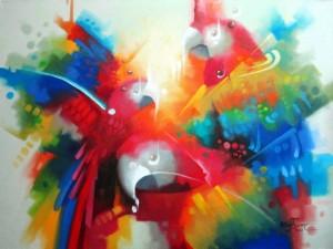 'Los colores de la selva' es una exposición que estará disponible en la casa cultural Custodio García Rovira