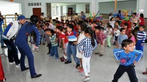 La piñata es dirigida a niños y padres de familia. - Suministrada / GENTE DE CABECERA