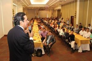El alcalde Luis Francisco Bohórquez presentó el Festival de la Familia, en el hotel Dann Carlton. - Suministrada / GENTE DE CABECERA