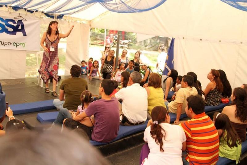 Las presentaciones de Abrapalabra llegarán a los parques de la ciudad.