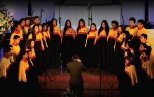 Coro Polifónico de la UPB.