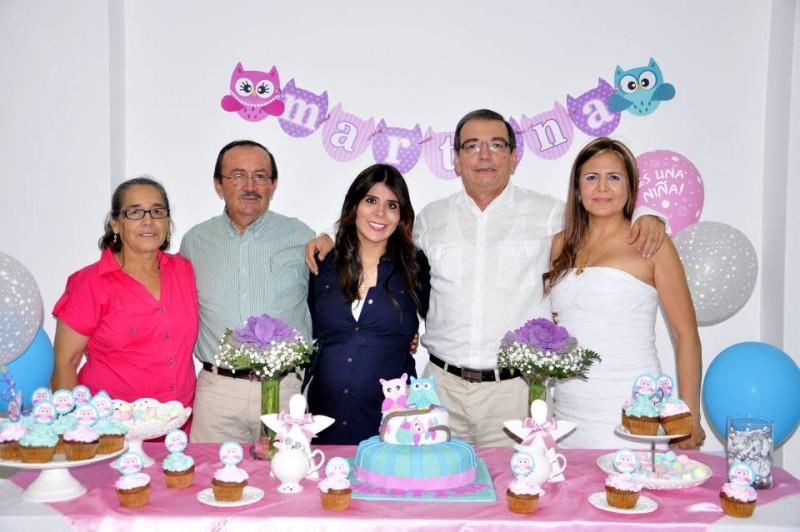 Dora Emilia Suárez, Jorge Eduardo Fonseca, Katerine Pineda, Alfonso Pineda Chaparro y Magali Hernández. - Laura Herrera / GENTE DE CABECERA