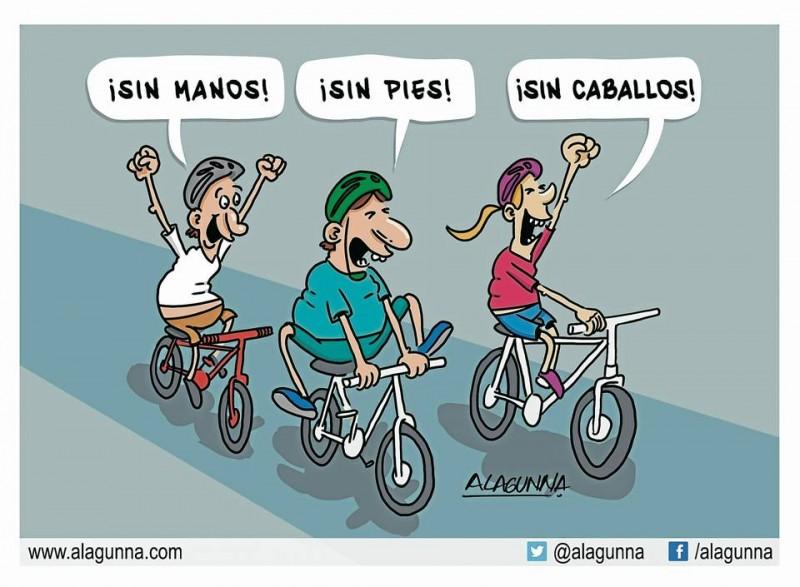 Ciclopaseo (caricatura)