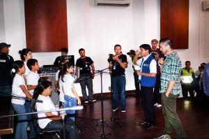 En el Centro Cultural del Oriente se realizó el ensayo de Juanes y Mochila Cantora