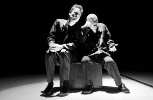 Los actores Patrick Delmas y Fernando Arévalo presentarán una comedia en el Teatro Corfescu.     - Suministrada / GENTE DE CABECERA