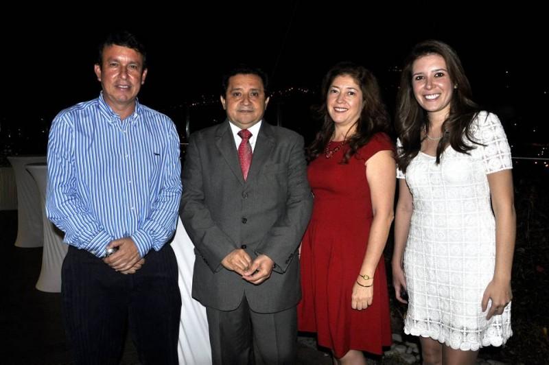 Sergio Marín, Carlos Mesa, Diana Rangel y Carolina Durán. - Laura Herrera / GENTE DE CABECERA