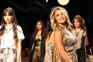 Este año Cristina Hurtado repite en El Corazón de la Moda, esta vez modelará ropa interior