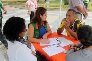 Luis Daniel Vega, de la Junta Administradora Local, JAL de la comuna 12, también estuvo presente en la cita. - Fotos Contraloría de Bucaramanga / GENTE DE CABECERA