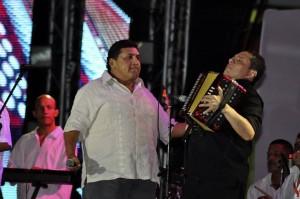 Poncho Zuleta hace parte de la lista de cantantes del Tsunami Vallenato.