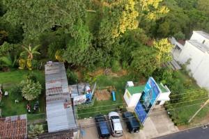 """""""Esta sería la zona que se vería afectada con la obra"""", denuncia el vecino. - Suministrada / GENTE DE CABECERA"""