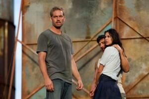Junto a Paul Walker, en su reciente papel en 'Brick Mansions' que aún se encuentra en cartelera en Bucaramanga