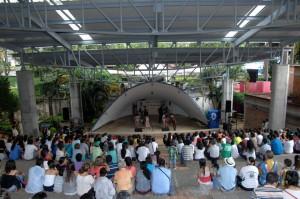 La concha acústica recibirá a 14 agrupaciones musicales este fin de semana. - Archivo / GENTE DE CABECERA