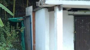 El periodista del barrio pide que se adecue esta caseta para los vigilantes y para que siga prestando el servicio de paradero de bus. - Archivo (suministrada) / GENTE DE CABECERA