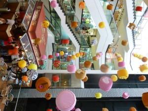 La decoración de este mes en Cuarta Etapa es alusiva a los niños - Suministrada / GENTE DE CABECERA