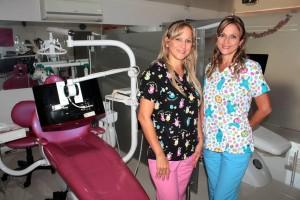Ruth y Álix Forero  Orejarena son hermanas y odontólogas. - Javier Gutiérrez / GENTE DE CABECERA