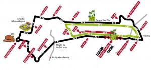 Este será el recorrido del ¼ de Maratón Ciudad de Bucaramanga, evento liderado por la Fundación Cardiovascular de Colombia. - Suministrada / GENTE DE CABECERA