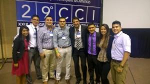 Este es el equipo que viajó a Argentna. - Suministrada / GENTE DE CABECERA
