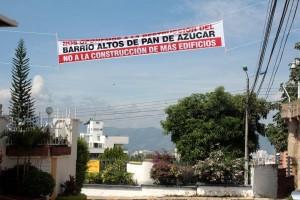 Esta semana residentes de Cabecera protestaron por la cantidad de proyectos de construcción que se adelantan en el sector. - Javier Gutiérrez / GENTE DE CABECERA