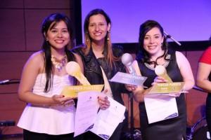 Las ganadoras del concurso celebraron sus triunfos. - Suministrada / GENTE DE CABECERA