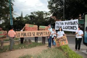Nuevamente vecinos del parque Mejoras Públicas reclamarán ante la SMP. - Archivo / GENTE DE CABECERA