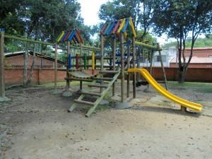 Los nuevos juegos infantiles fue una gestión de la JAC, según declara Josefina Torres.
