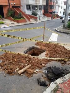Así estaba la esquina el fin de semana del 3 de noviembre. - Suministrada / GENTE DE CABECERA
