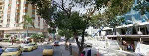 Los vecinos de la avenida La Rosita se quejan por los ruidos que se generan en la obra ubicada frente a sus viviendas. - Tomada de Google / GENTE DE CABECERA