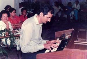 El piano ha ocupado siempre un papel importante en su vida familiar y profesional