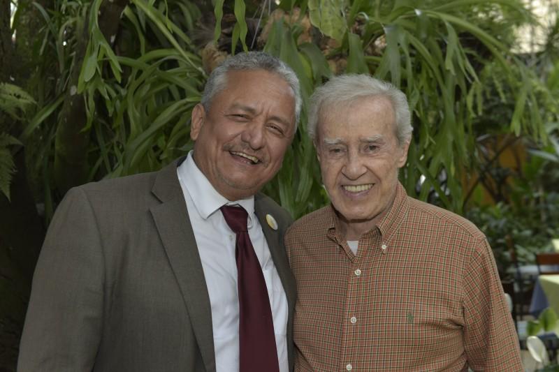 Carlos Contreras, del restaurante El Tony y Pablo Janiot, de La Carreta.