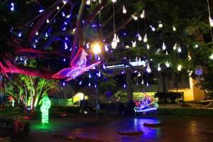 Así luce el parque Las Palmas.
