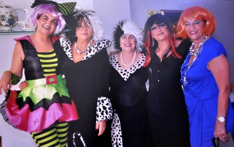 Silvia Acevedo de Parra, Cecilia Nassar, Gloria de Bohórquez, Lucia Acevedo y Martha Arango. - Laura Herrera /GENTE DE CABECERA