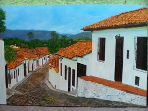 Esta es una de las obras de Jamez de Girón que se expondrán. - Suministrada / GENTE DE CABECERA