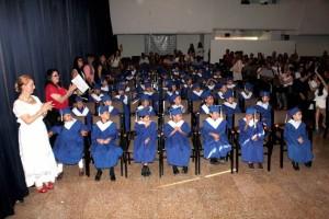El grupo de graduados en el Carl Rogers. - Javier Gutiérrez / GENTE DE CABECERA