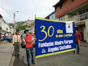 Por estos días la fundación celebra sus 30 años de servicio social.