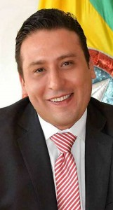 César Parra, secretario del Interior.