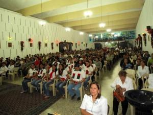 Es común en esta zona del país madrugar a hacer la novena en las misas de aguinaldo. - Archivo / GENTE DE CABECERA