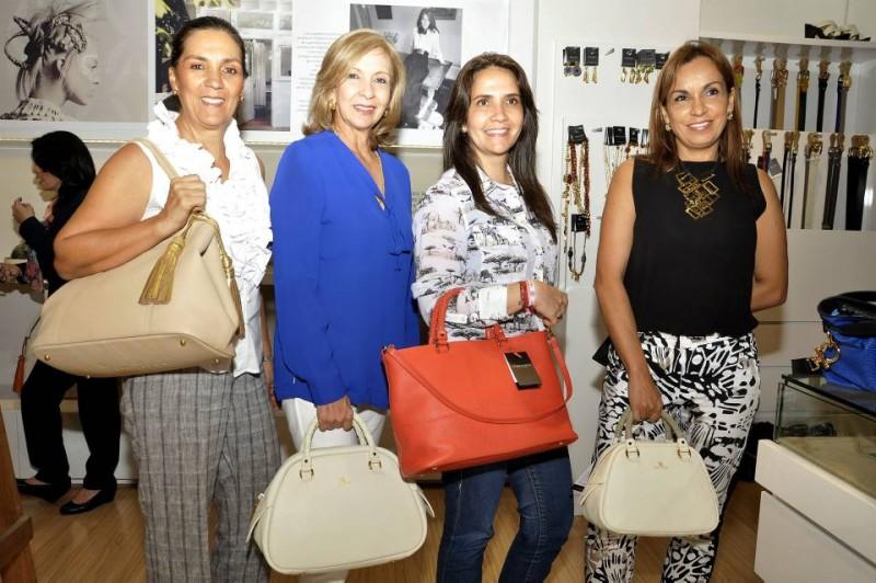 Ángela María Sanín, Marta Blanco, Pilar Echeverry y Luz Alejandra Marín. - Fotos Didier Niño / GENTE DE CABECERA