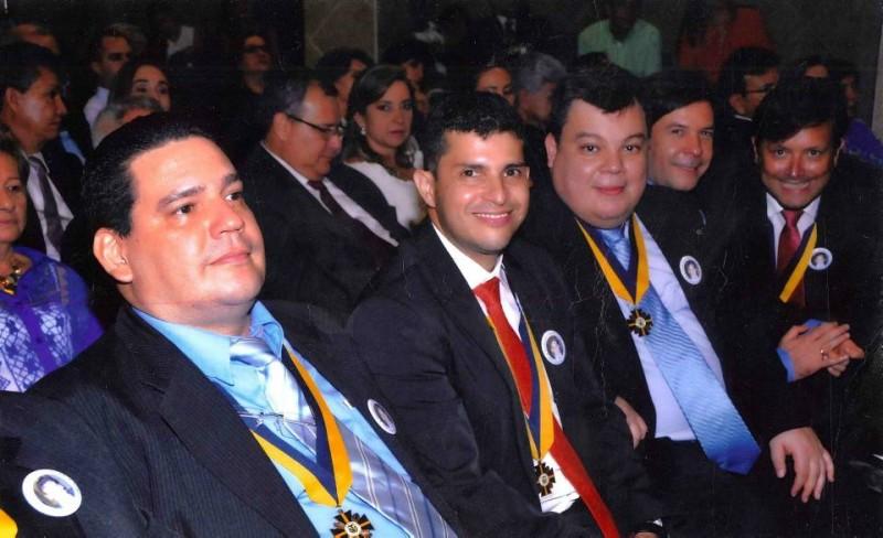 Juan Manuel Arenas, Carlos Remolina Medina, Sergio Navas, Mauricio Serrano y Andrés Felipe Oróstegui. - Suministrada / GENTE DE CABECERA
