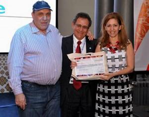 Los ponentes regresaron a Bucaramanga con un reconocimiento por su participación. - Suministrada / GENTE DE CABECERA