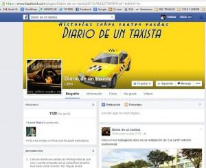 Esta es la página en Facebook en la que también publica sus historias. - Tomada de Internet / GENTE DE CABECERA