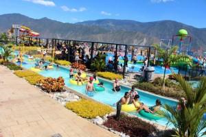 Una de las atracciones más visitadas en esta temporada de fin de año fue Acuaparque. - Suministrada / GENTE DE CABERA