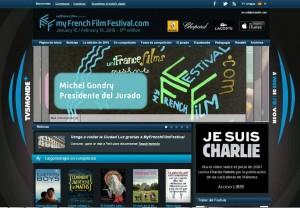 Tanto el sitio web myFrenchFilmFestival.com como las películas se presentarán en varios idiomas incluido el español.  - Tomada de Internet / GENTE DE CABECERA