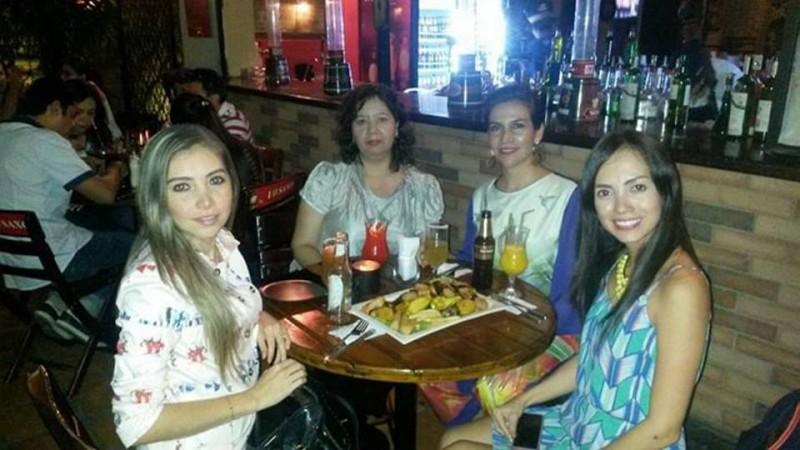 Marcela Quiñónez, Sandra Rodríguez, Mercedes Reyes y Milena Flórez. - Suministrada / GENTE DE CABECERA