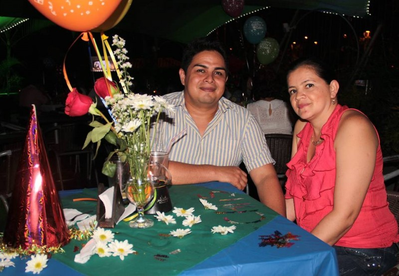 Cristian Espitia y Liliana Villamizar. - Javier Gutiérrez / GENTE DE CABECERA
