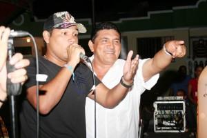 K Beto y su padre Poncho Zuleta. - Tomada de Internet / GENTE DE CABECERA